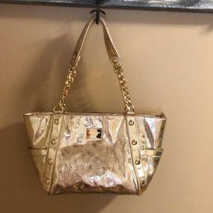 Michael Kors Delancy Handbag PVC Signature Logo